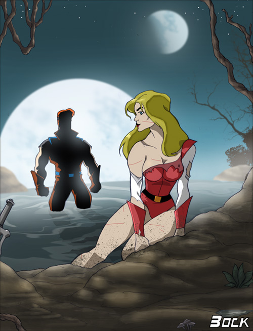 seahawk she-ra captain Teen titans raven in diapers