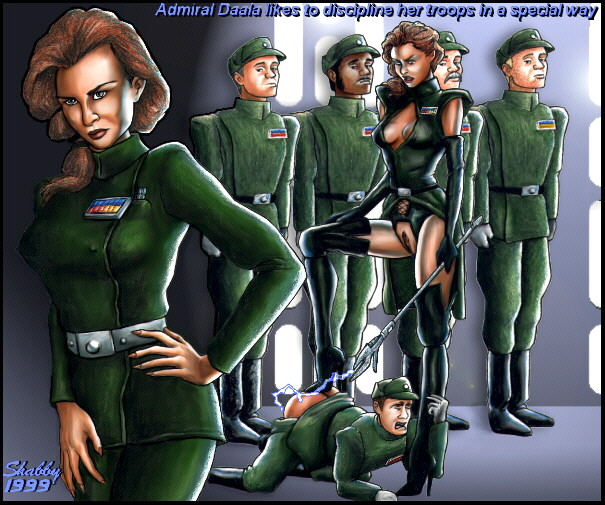 imperial female star wars officer Goku and android 21 fanfiction