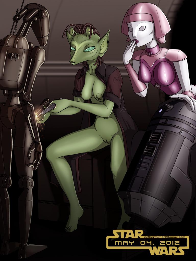 nipples portman wars natalie star Trials in tainted space sylvie