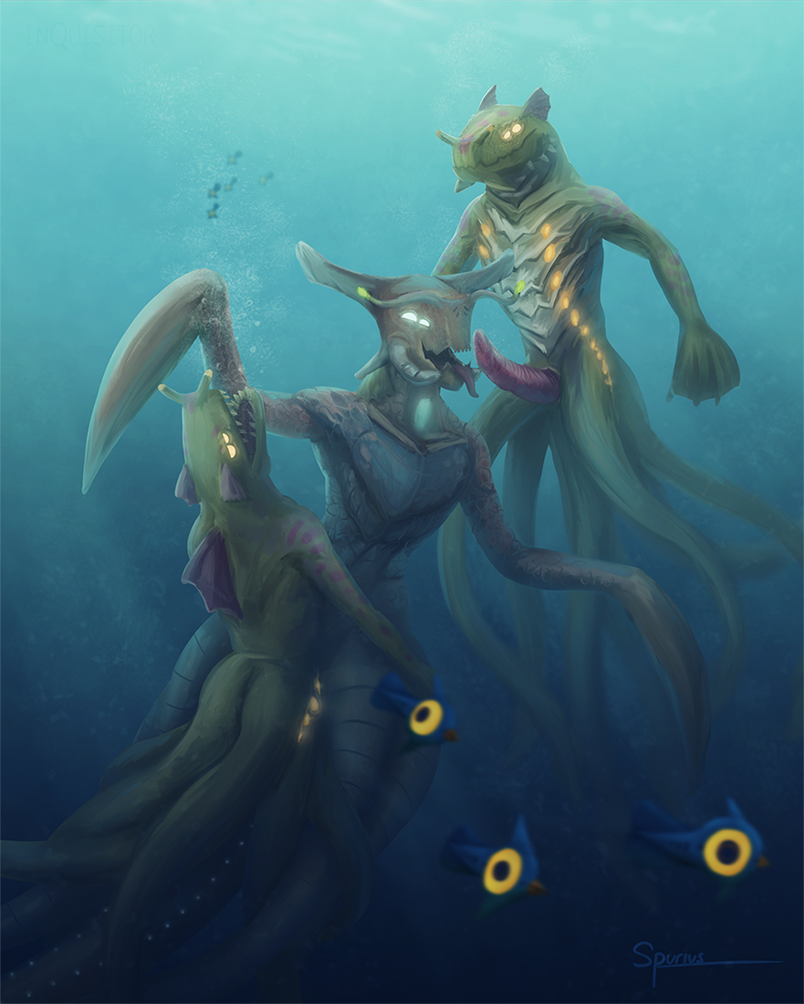 below monkey subnautica sea zero Isekai maou to shoukan shoujo dorei majutsu uncensored