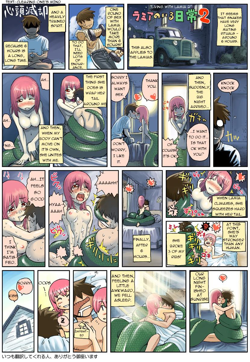 iru monster 44 musume nichijou no Konnya haha to ninnkatsu shimasu ni