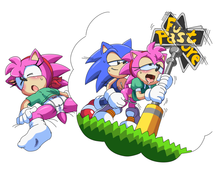 rose sonic hedgehog amy the Bunny must die chelsea and the 7 devils