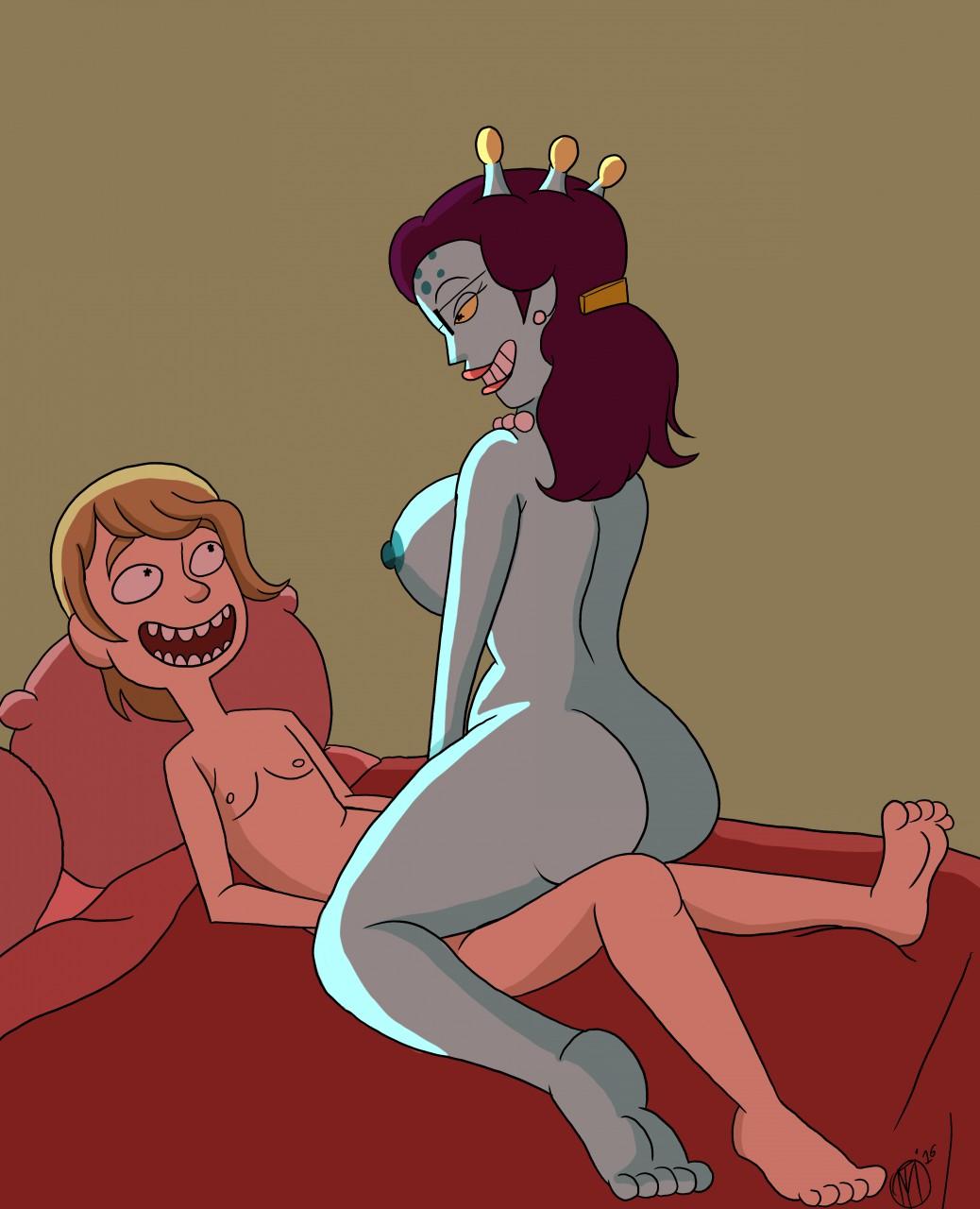 morty incest and hentai rick Dungeon ni deai o motomeru no wa