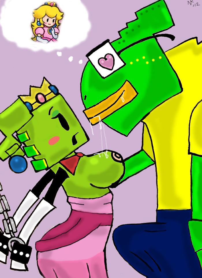 super bros mario Ren and stimpy adults party cartoon