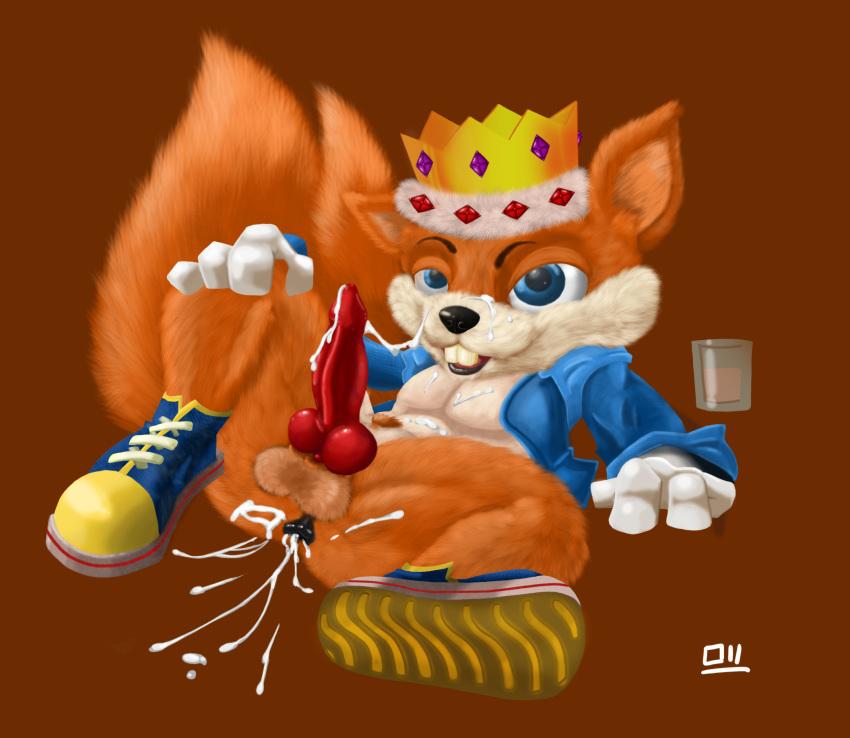 day bad conkers fur Krypto the superdog brainy barker