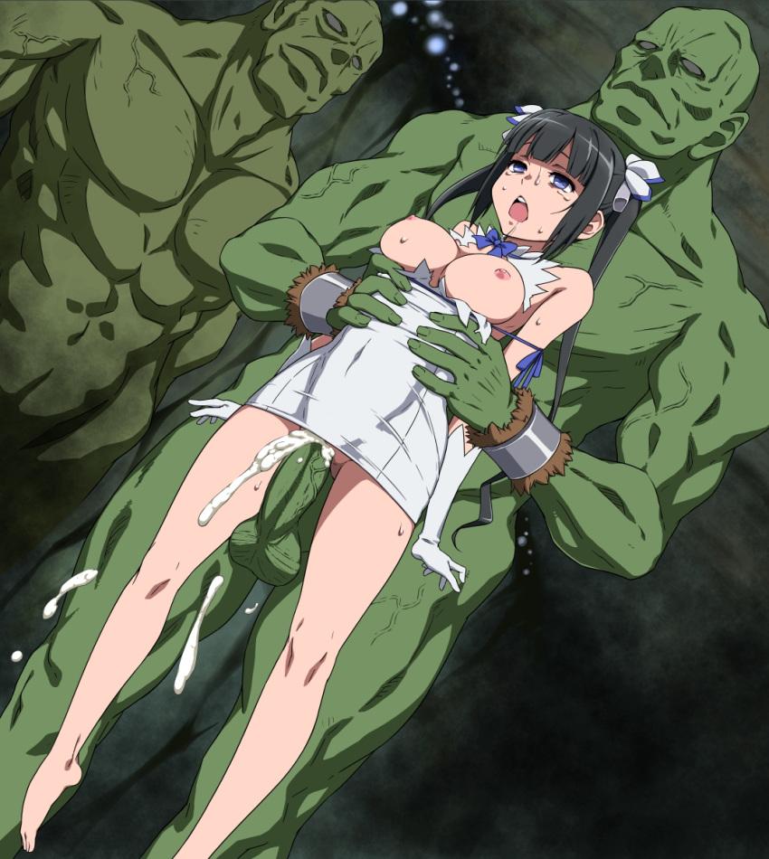 dungeon-ni-deai-wo-motomeru-no-wa-machigatteiru-darou-ka Attack on titan eren x levi