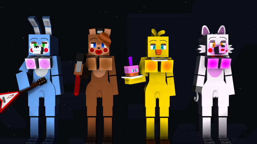 chica mangle toy x porn Foxy the pirate fox muscle