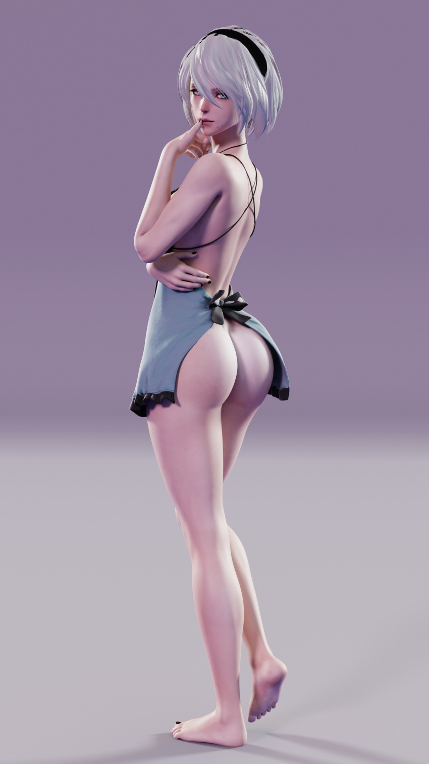 automata skirt nier back get Where is syanna after blood and wine