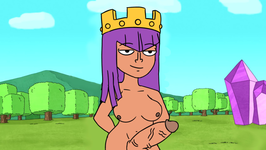 naked clash of queen clans archer Supreme kai of time thicc