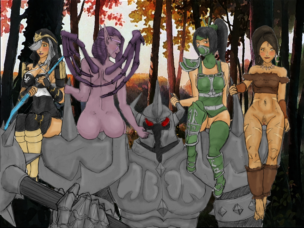 of league redundant super heroes Fem sasuke and naruto lemon fanfiction