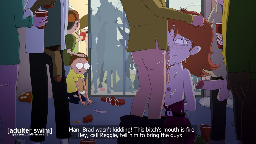 morty naked and rick from summer Fox and the hound hentai