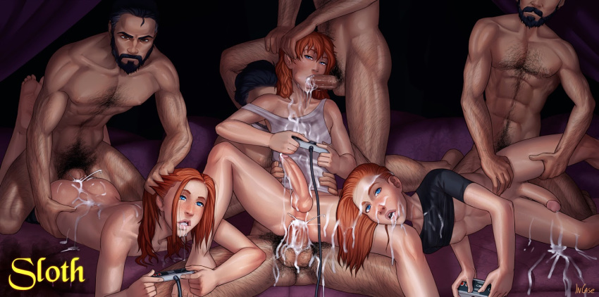 sins naked elizabeth seven deadly Black widow sex with hulk